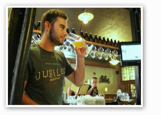 Ferguson's Brewmaster, Ryan Landolt | Pat Kohm