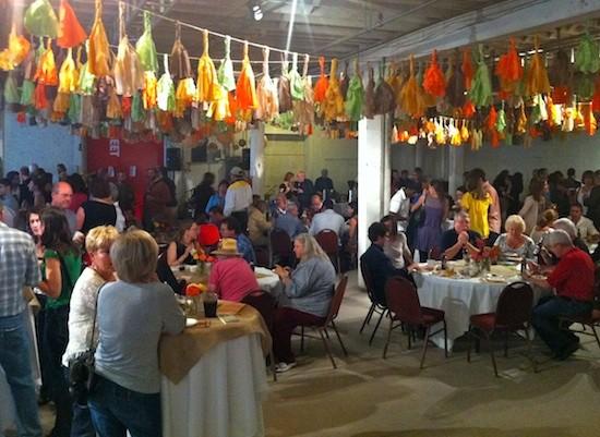 The scene at Art of Food 2011 - BRYAN PETERS