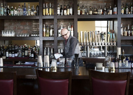 Co-owner and master mixologist Ted Kilgore behind the bar. | Jennifer Silverberg