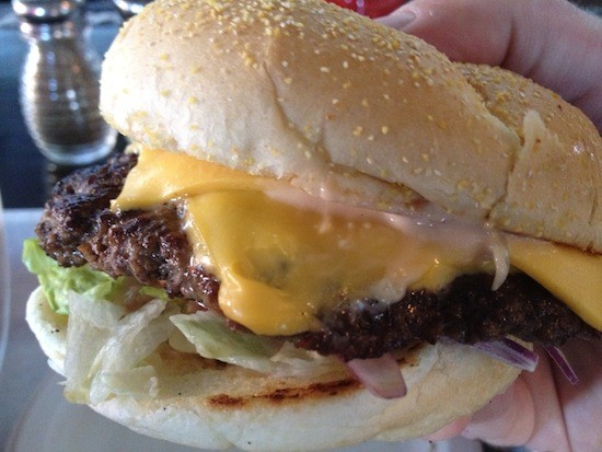 A burger at the Shack PubGrub - IAN FROEB