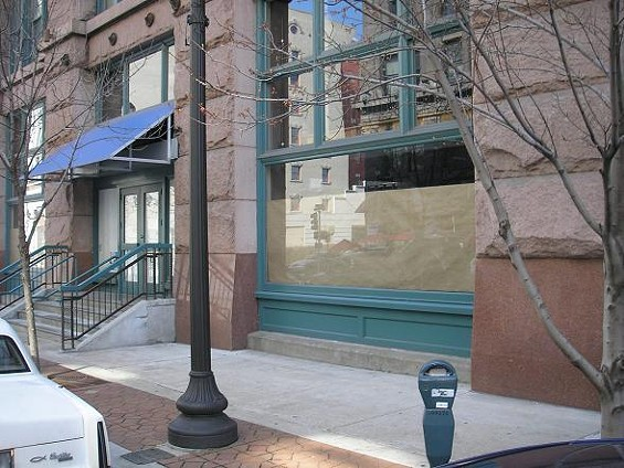 The former Kitchen K space at 1000 Washington Avenue - IAN FROEB
