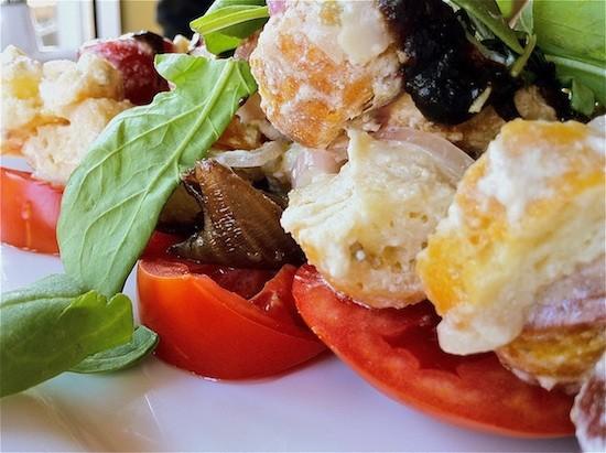 Robust's tomato salad. - BRYAN PETERS