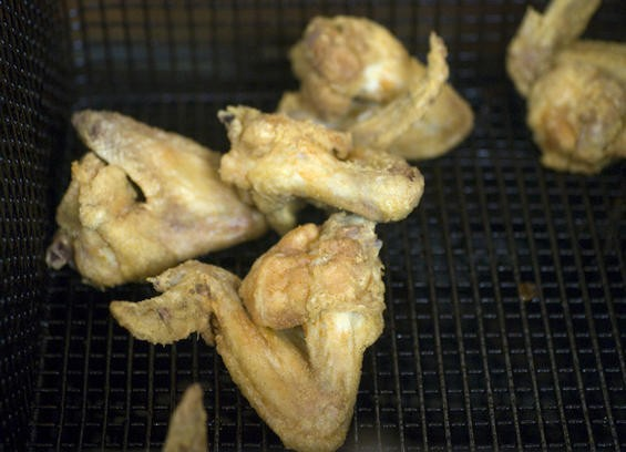 The fried chicken at Young's Restaurant & Ice Creamery - JENNIFER SILVERBERG