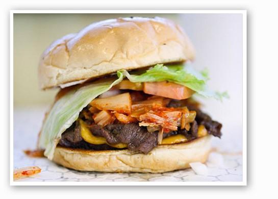 The Kim Cheese Burger at Kim Cheese. | Jennifer Silverberg
