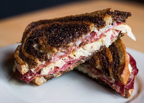 Ryder's Tavern's Reuben sandwich. | Photos by Mabel Suen