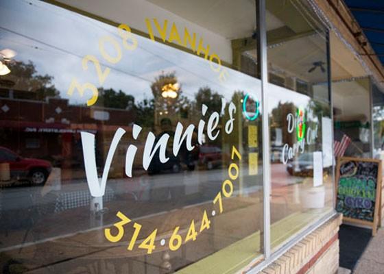 Outside Vinnie's. | Corey Woodruff
