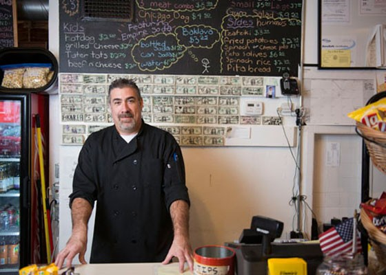 Vinnie's owner Matt Mulholland. | Corey Woodruff