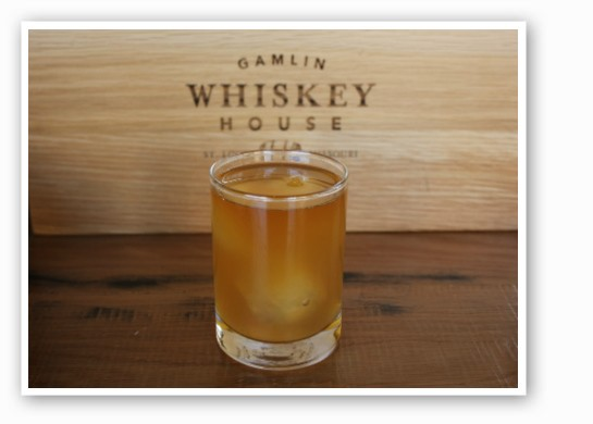 "The Gamlin Whiskey House's ""Bees Knees."" 