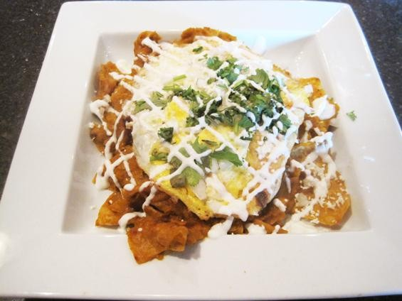 The chilaquiles at Milagro Modern Mexican - IAN FROEB