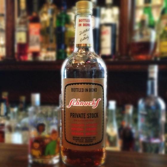 Schnucks Private Stock Bonded Bourbon   Patrick J. Hurley