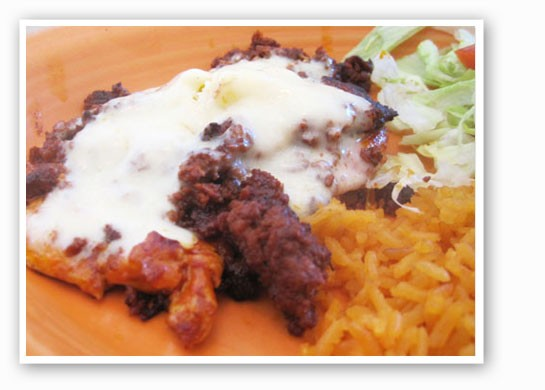 The chori pollo at Mi Ranchito. | Ian Froeb