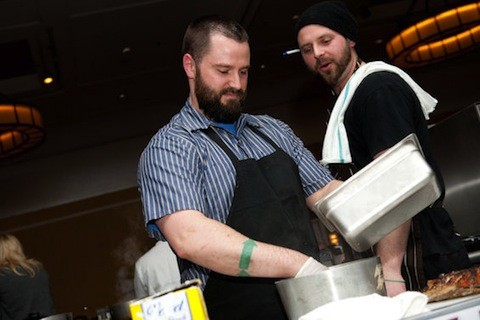 Ed Heath of Cleveland-Heath (left) and Andrew Jennrich of Farmhaus | Jon Gitchoff