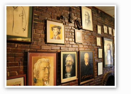 Wall of smart, impressive people. | Pat Kohm