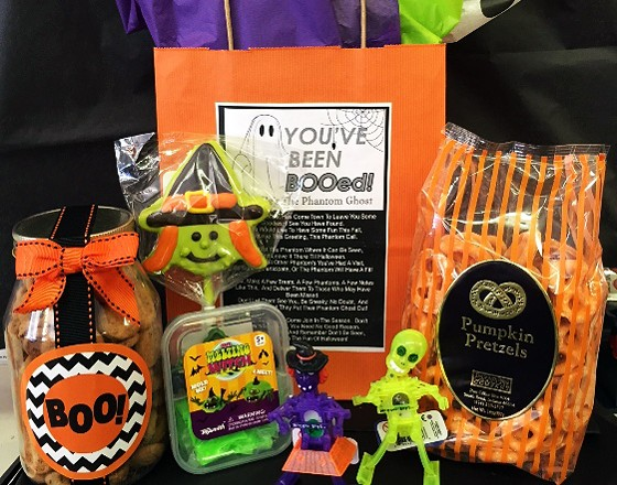 """THE """"BOO BAG"""" AT SWEET BE'S CANDY AND GIFTS 