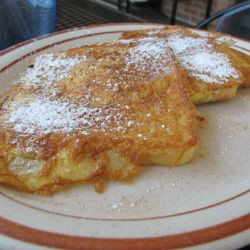 French toast at Boardwalk Cafe. - REASE KIRCHNER