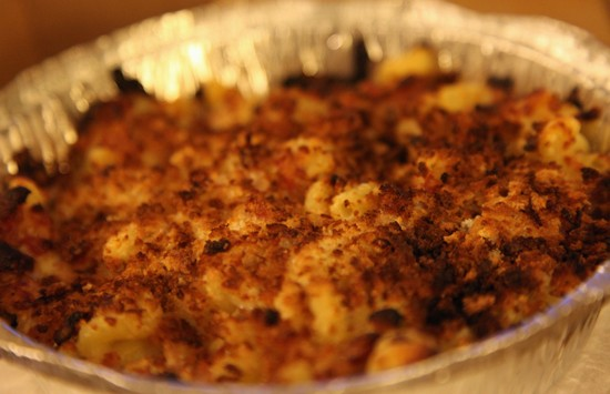 Bacon, Bacon with Breadcrumbs: This mac & cheese doesn't fuck around. - KATIE MOULTON