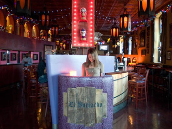 Inside El Borracho, now closed - JENNIFER SILVERBERG