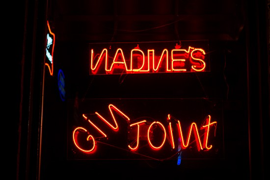 Nadine's Gin Joint in Soulard. | Photos by Mabel Suen