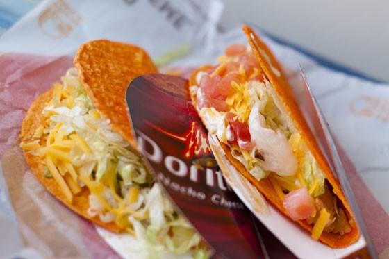Taco Bell's Doritos Locos Tacos - KHOLOOD EID
