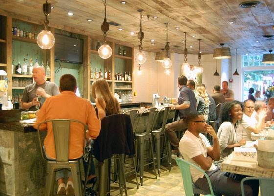 The Peacemaker bar. | Nancy Stiles