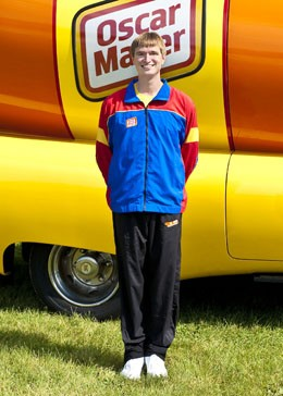 Hotdogger Brian Keefe. - IMAGE VIA