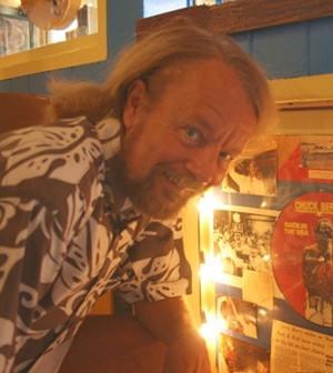 Joe Edwards at Blueberry Hill. | Jon Scorfina