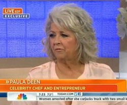 Paula Deen delivers her fifth apology for using racial slurs. - NBC TODAY SHOW