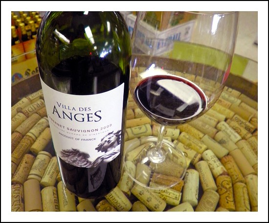 Will this 2009 Villa des Anges cabernet sauvignon from the Languedoc in France tickle Gut Check's fancy? Only one way to find out! - KATIE MOULTON