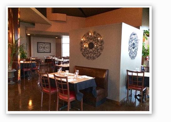 The new dining room at Vito's.   Gio La Fata