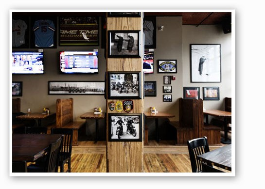 The Precinct's dining room. | Jennifer Silverberg
