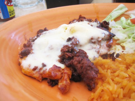 The chori pollo at Mi Ranchito - IAN FROEB