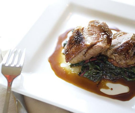 A duck dish at this year's Best New Restaurant - JENNIFER SILVERBERG