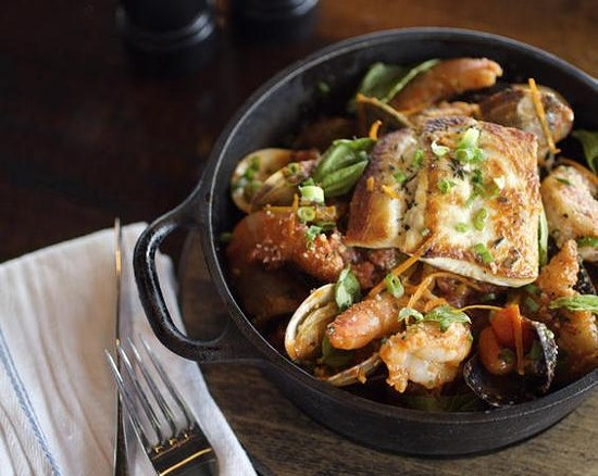 The fisherman's stew at the Tavern Kitchen & Bar - JENNIFER SILVERBERG
