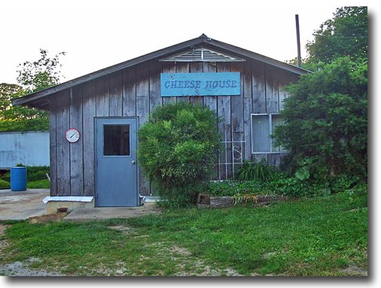 The Cheese House at Morningland of the Ozarks is no more. - IMAGE VIA