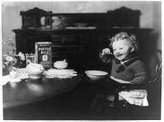 Eat up, Kiddo. Things aren't going to get better than this. - WIKIMEDIA COMMONS