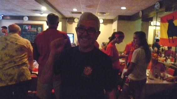 The proud Spanish owner of Guido's, Segundo Corretero