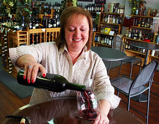 Kata Lozina serves South County wine lovers. - KATIE MOULTON
