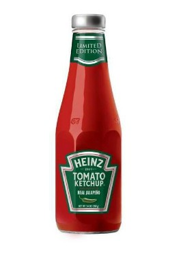 Heinz Jalapeno Ketchup. - IMAGE VIA