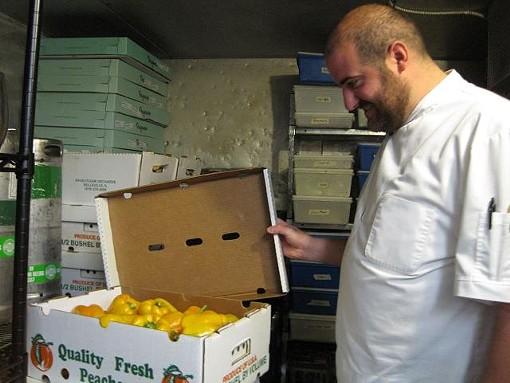 Vito Racanelli of Onesto Pizza & Trattoria - ROBIN WHEELER