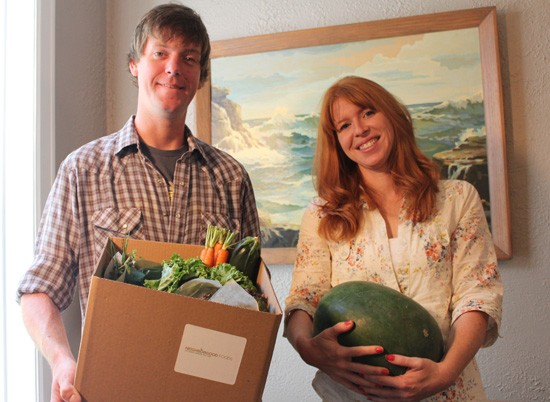 John Doelling and Andi Smith, co-owners of NeighborGood Foods. - MABEL SUEN