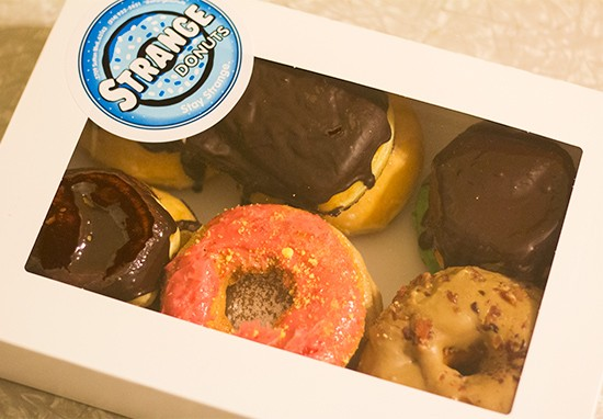A Strange Donuts dozen. | Mabel Suen