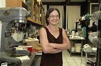 Marcia Sindel, La Dolce Via's resident baking genius. - JENNIFER SILVERBERG