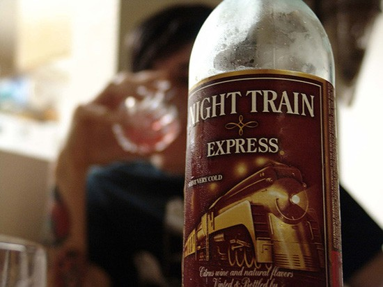 Ride the rails...straight into the gutter. - IMAGE VIA