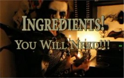 INGREDIENTS! YOU WILL NEED! - VIDEO STILL VIA