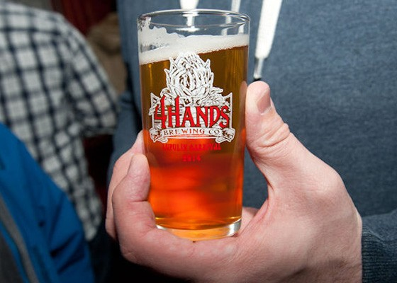 Don't miss the release of War Hammer at the annual 4 Hands Lupulin Carnival. | Jon Gitchoff