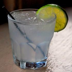 A gin rickey at Maryland House. | Kaitlin Steinberg