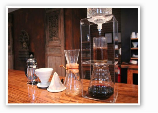 Sump Coffee's tools of the trade   Mabel Suen