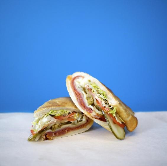 The Italian sandwich at Snarf's - JENNIFER SILVERBERG
