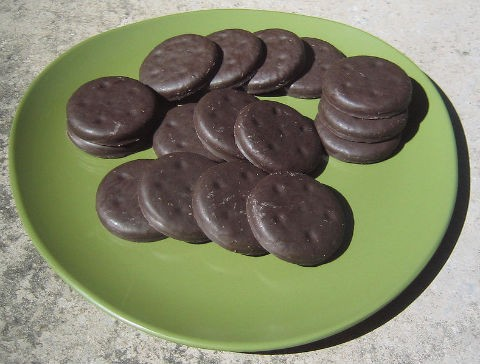 Support your local Girl Scouts so they don't grow into cookie-fighting adults. - WIKIMEDIA COMMONS