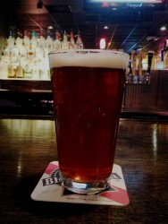 A 4 Hands Brewing Co. draft beer. - CAILLIN MURRAY